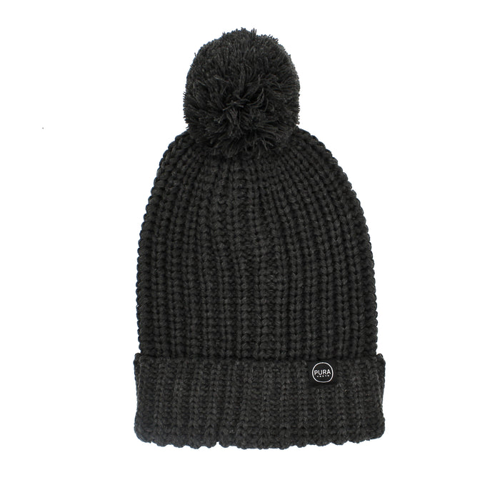 Wilderness Beanie Charcoal