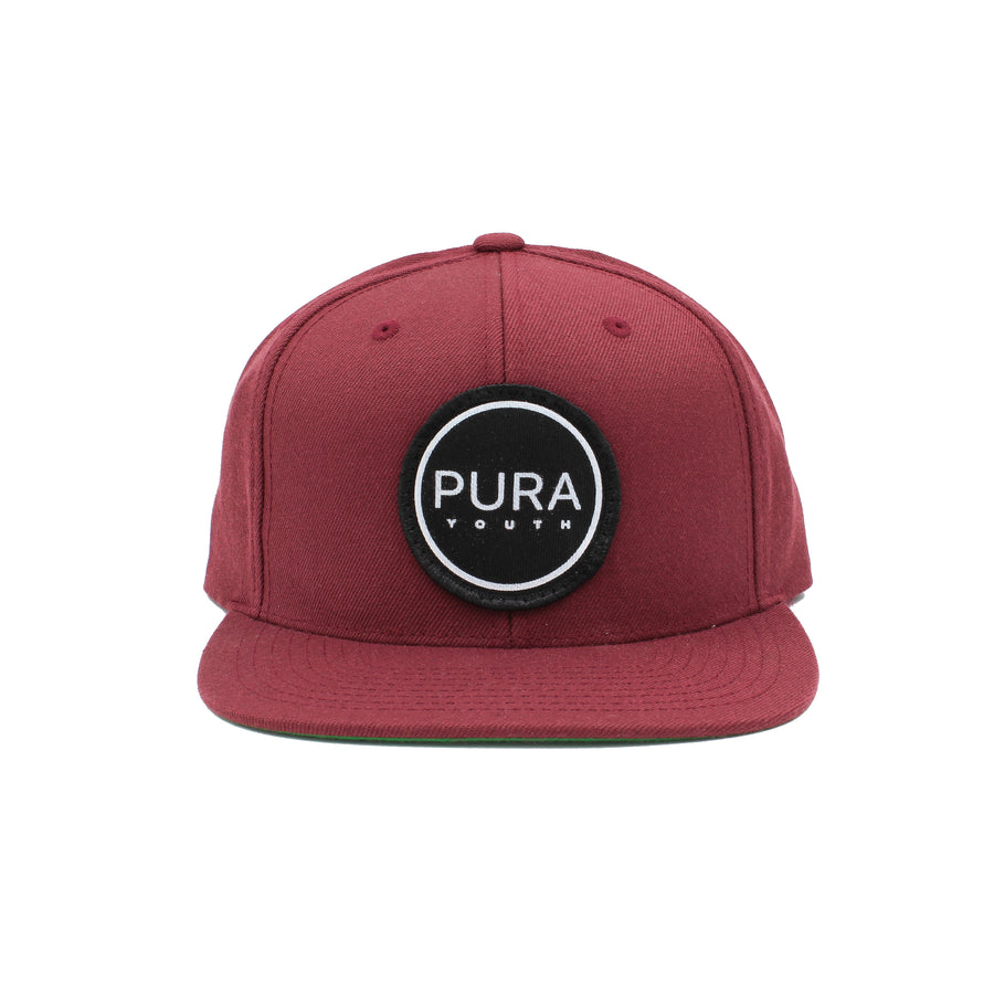 Smith Snapback Maroon