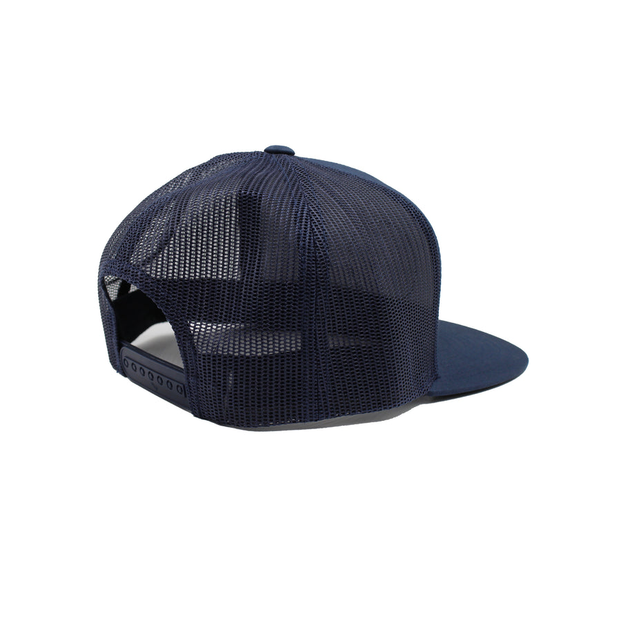 California Mesh Snapback Navy