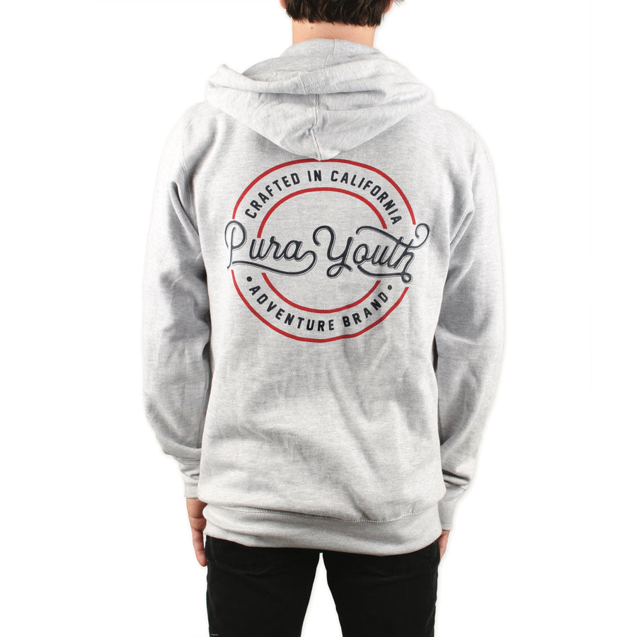 Crafted Hoodie Heather Grey