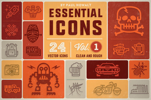 Essential Icons (Vol.1) + BONUS