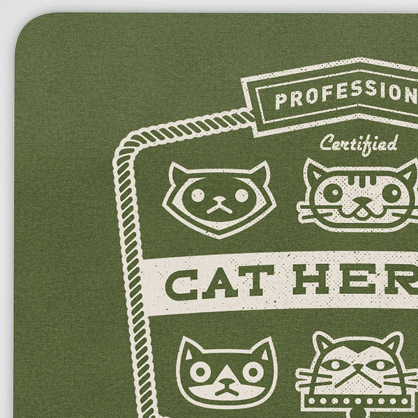 Professional Cat Herder Mouse Pad