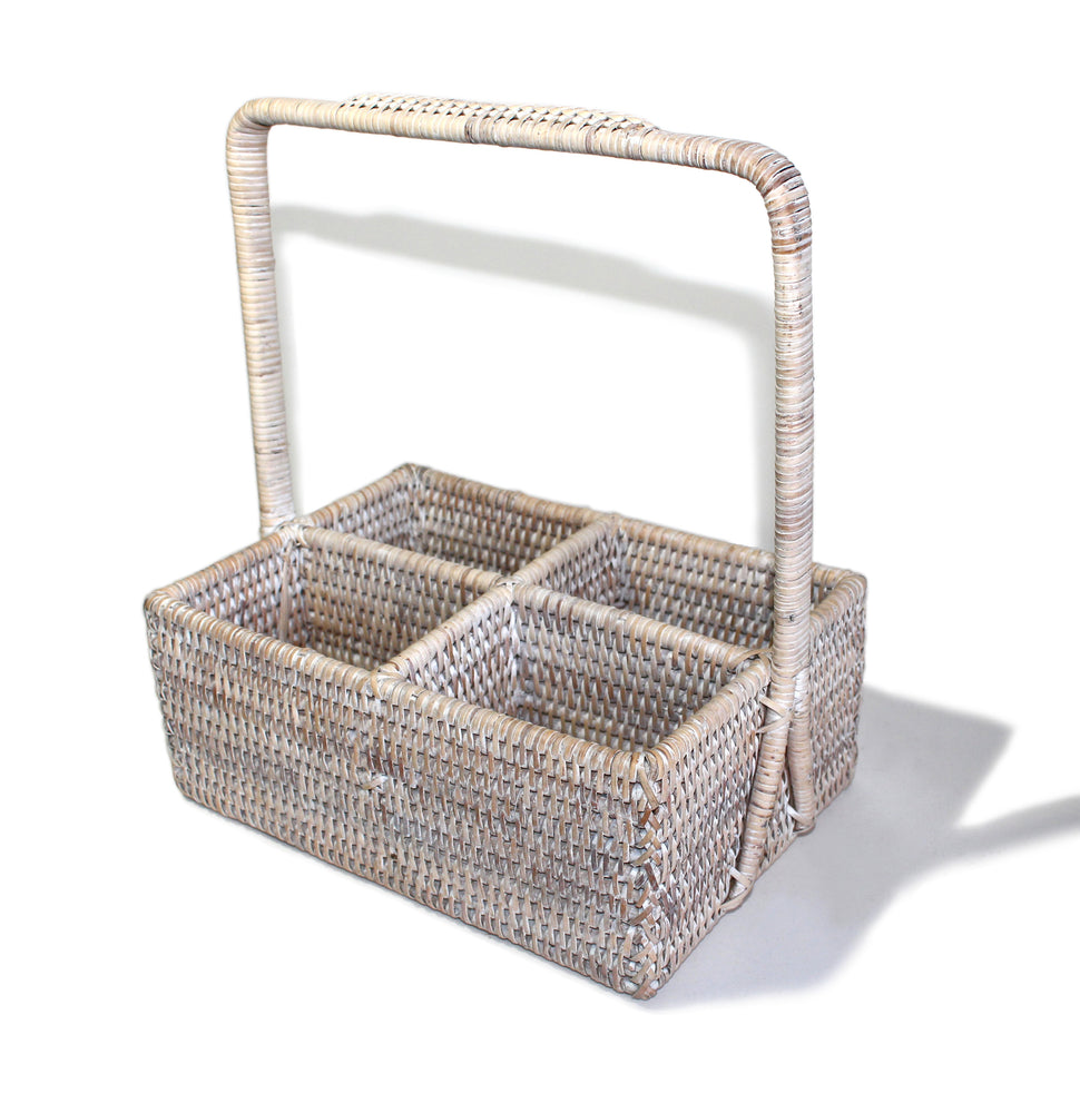 Rectangular Condiment Basket with Handle