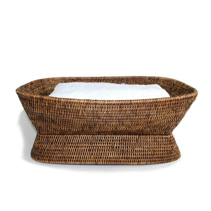 Fruit Basket Pedestal Rectangular