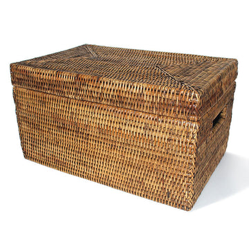 Storage Basket Rectangular w/ Lid 16x10x9
