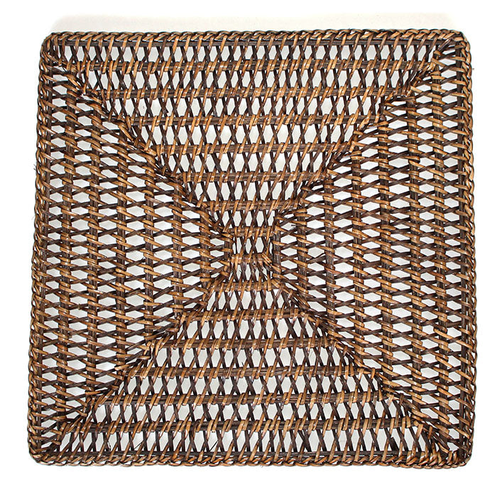 "Placemat Round 14"" - Antique Brown"
