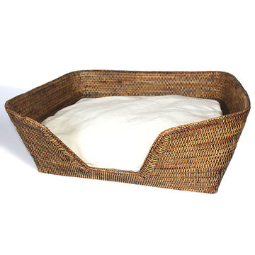 Dog Bed with Cushion 26x19x9