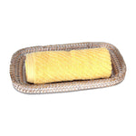 Guest Towel Roll Tray - White Wash