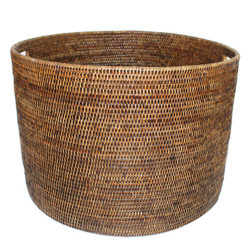 Round Open Storage Basket 20x20x14