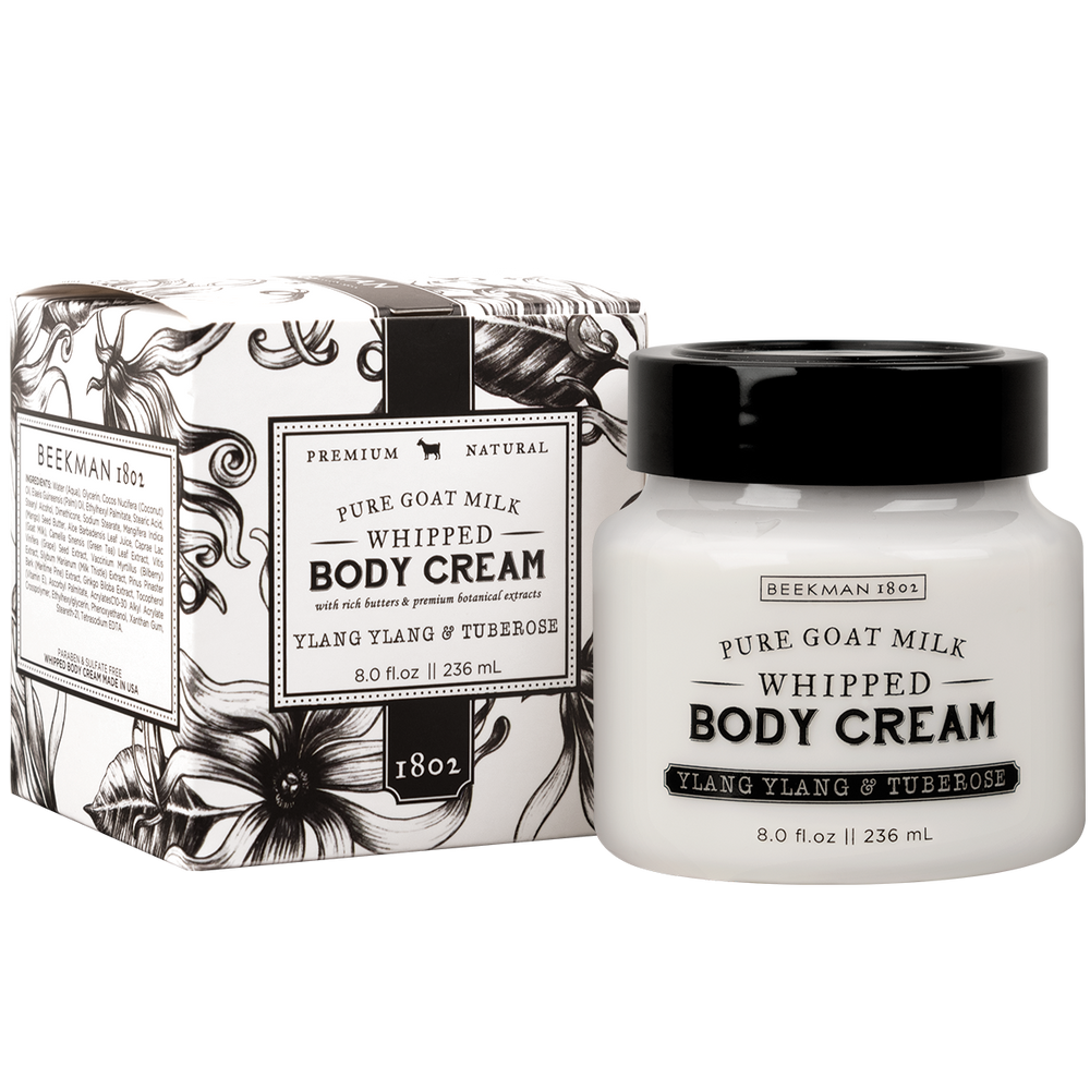 Ylang Ylang & Tuberose Whipped Body Cream