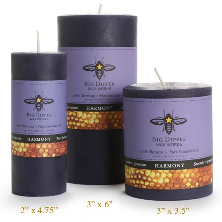 Harmony Beeswax Candles