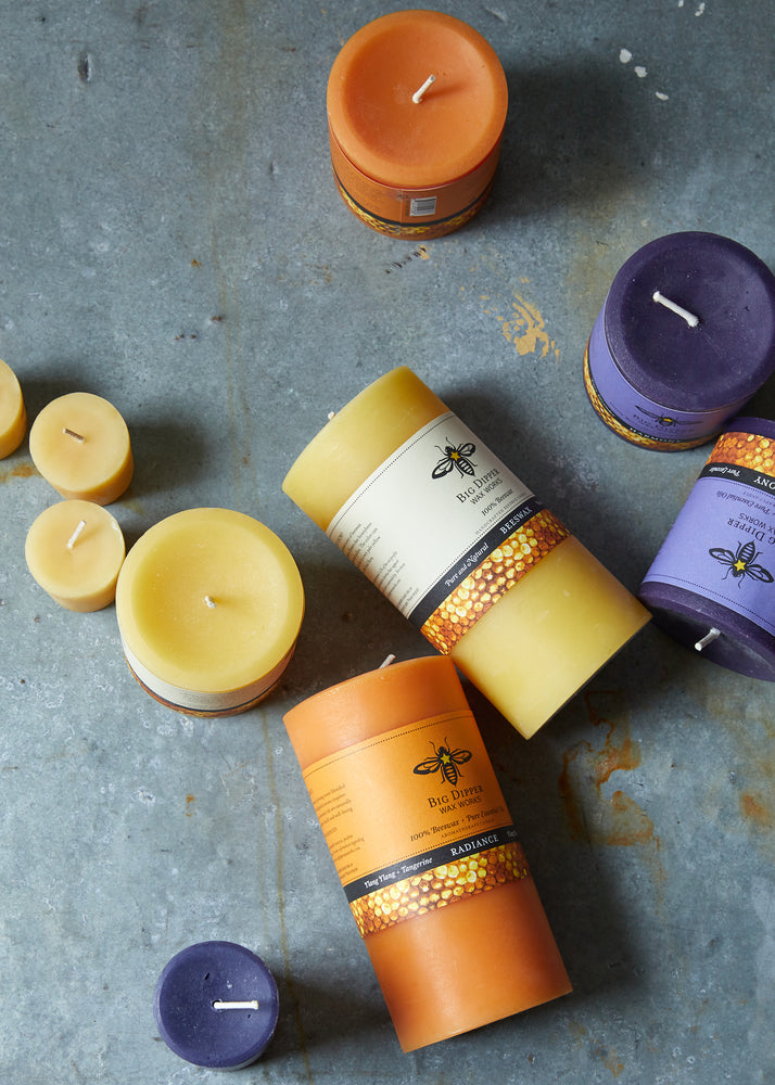 Rejuvenation Beeswax Candles