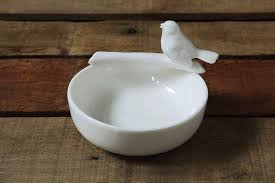 Load image into Gallery viewer, Bird Ceramic Bowl