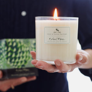 Load image into Gallery viewer, Roland Pine Large Soy Candle