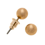 Sphere Stud Earrings