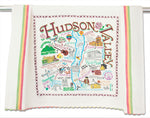 Whimsical Geography Dish Towels
