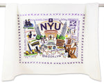 Whimsical College Dish Towels