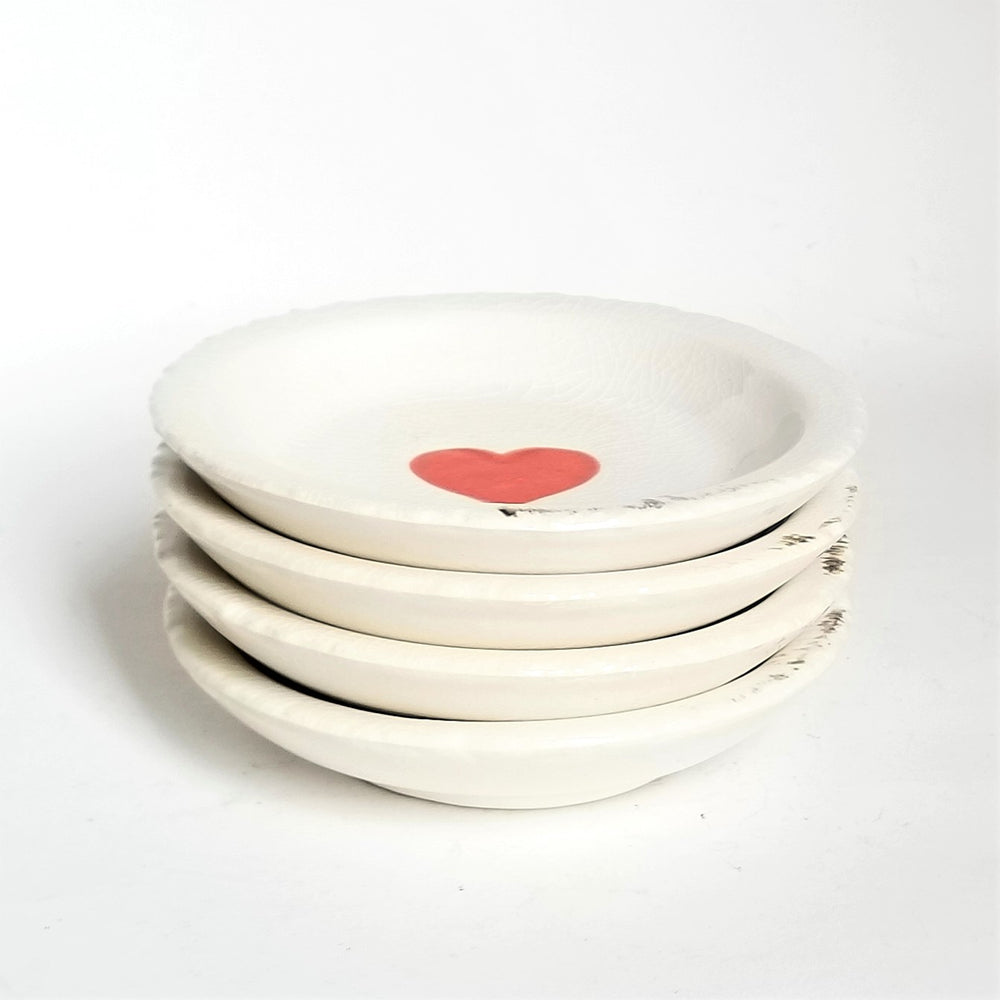 Distressed Heart Dish