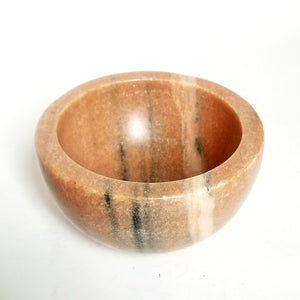 Carved Marble Bowl