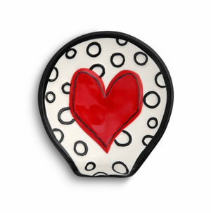 Whimsical Heart Spoon Rest
