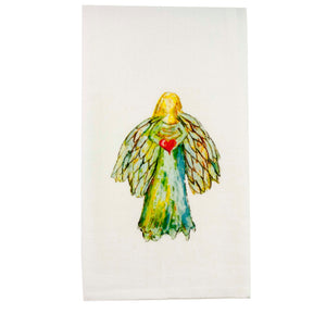 Load image into Gallery viewer, Angel Heart Dishtowel