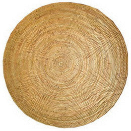 "Round Placemat 15""- Natural - Blue Rooster Trading"