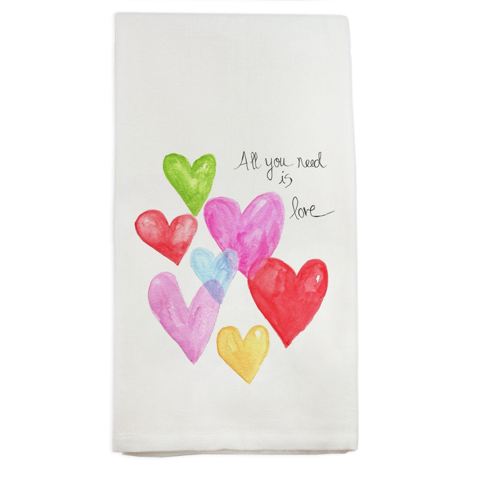 All You Need Love Dishtowel