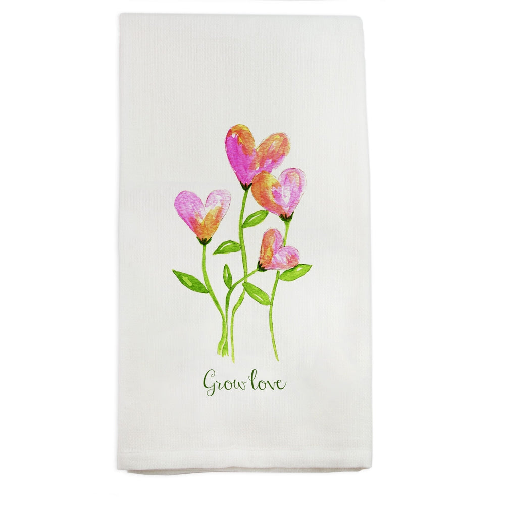 Load image into Gallery viewer, Grow Love Kitchen Towel