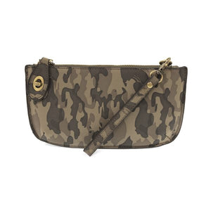 Load image into Gallery viewer, Camo Grey Vegan Leather Mini Clutch