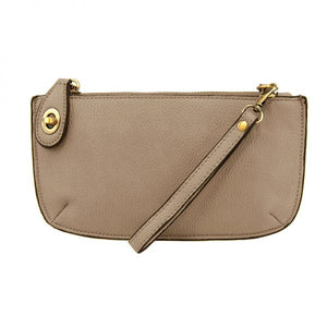 Kate Driftwood Vegan Leather Mini Clutch