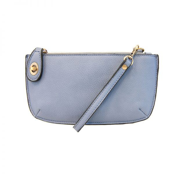 Kate Hydrangea Vegan Leather Mini Clutch