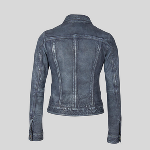 Load image into Gallery viewer, Jessie Leather Jacket