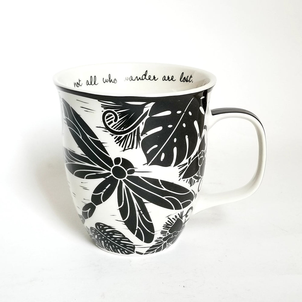 Boho Black n White Mugs