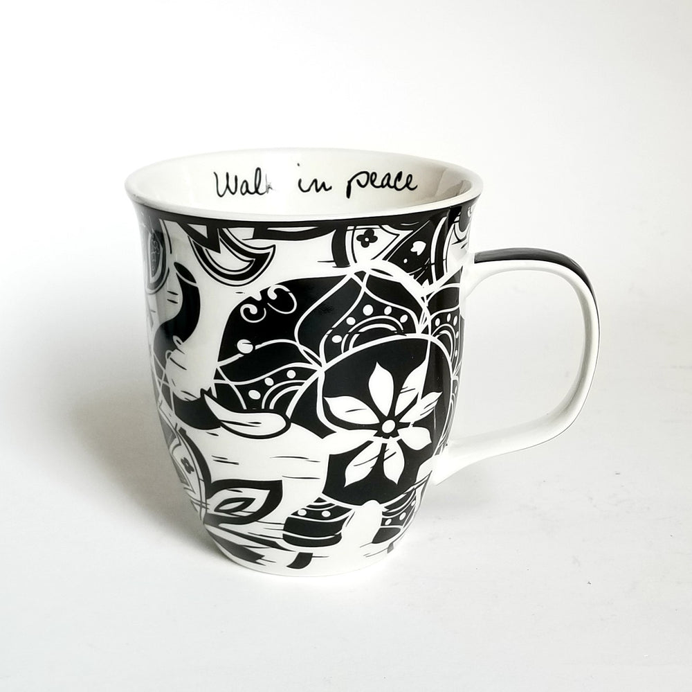 Load image into Gallery viewer, Boho Black n White Mugs