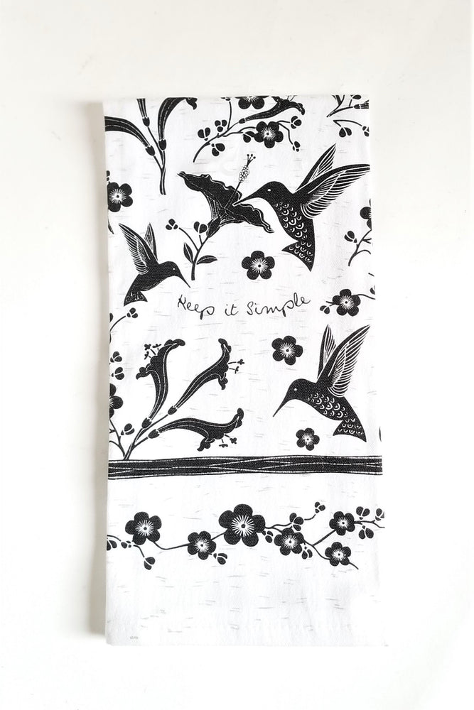 Load image into Gallery viewer, Boho Black n White Tea Towels