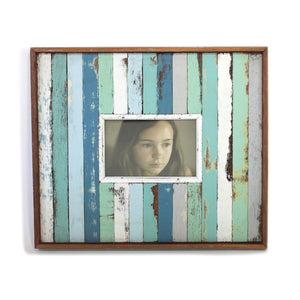 "Frame 14x12""H - Aqua - Blue Rooster Trading"