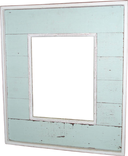"Mirror 22.5x26.5"" - Light Blue - Blue Rooster Trading"