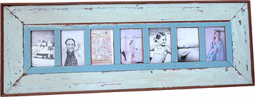 7-Pic Frame Plain Wide Board 39x14