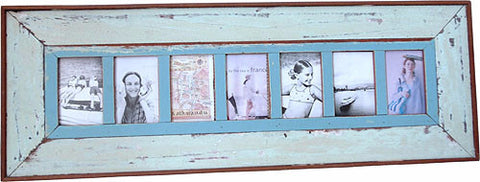 LLI090: 7-pic Frame Plain Wide Board - Blue Rooster Trading