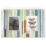 "2 Picture Frame 19x13"" - Blue/Grey"