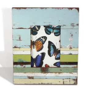 "Frame 10x12"" - Pale Blue/Multi - Blue Rooster Trading"