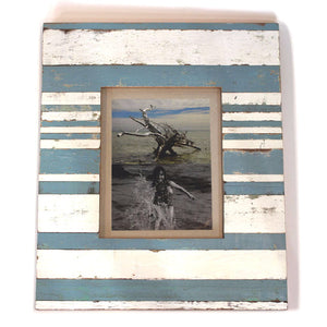 "Load image into Gallery viewer, Frame Denim 15x18"" - Blue/White - Blue Rooster Trading"