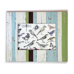 "Frame 18x22.5"" - Pale Blue/Cream/Green - Blue Rooster Trading"