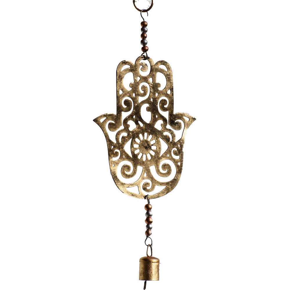 Load image into Gallery viewer, Hamsa Metal Chime