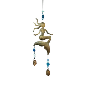 Mermaid Metal Chime