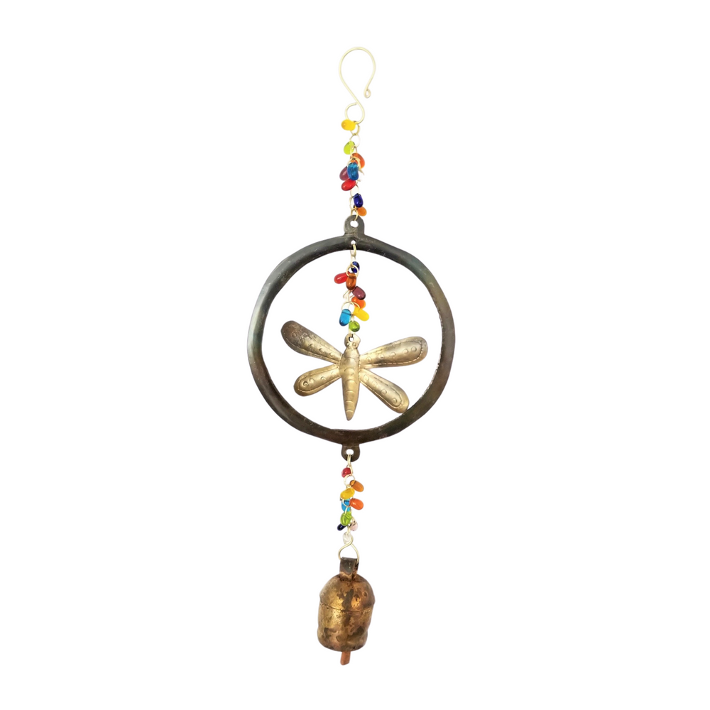 Circle Dragonfly Chime