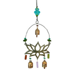 Serene Lotus Metal Chime