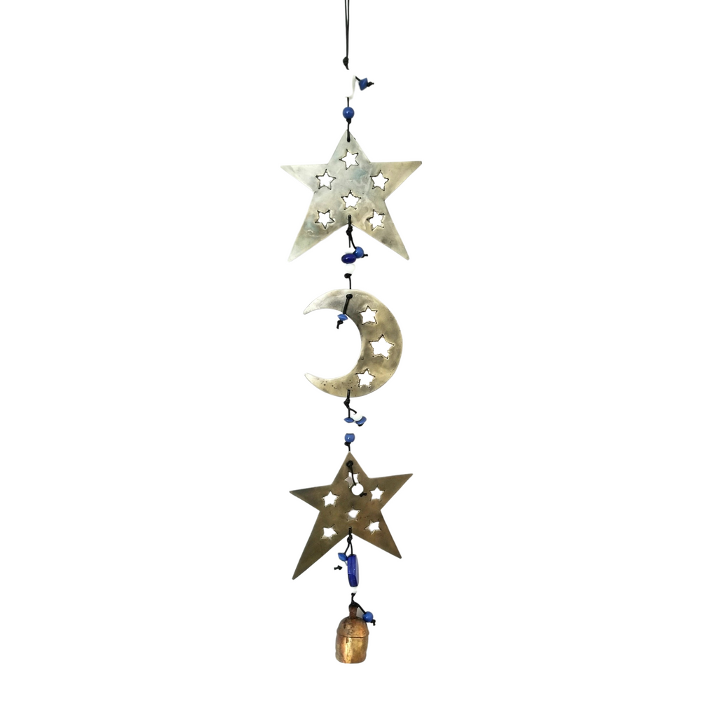 Star & Moon Metal Chime