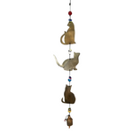 Cat Lovers Metal Chime
