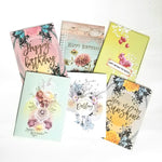 Happy Birthday Note Cards Set